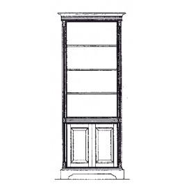 Top open, base panel door